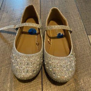 Shoes - Little girls glitter flats size 2
